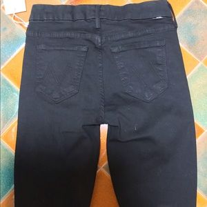 MOTHER Jeans - MOTHER LOOKER ANKLE FRAY GUILTY AS SIN